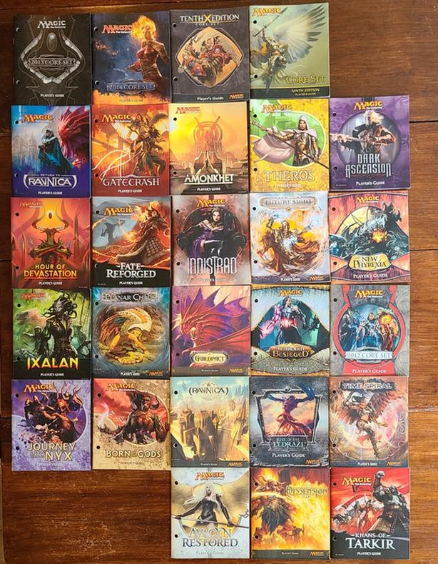Original Magic the Gathering players manuals.