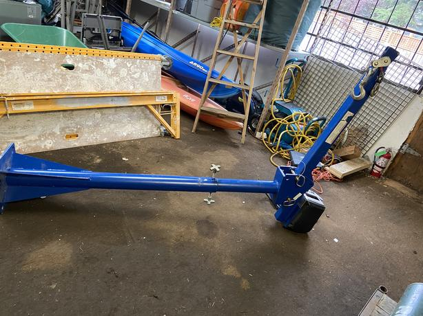 Jib lift crane 2000ibs WTJ-20-3 model strong arm winch