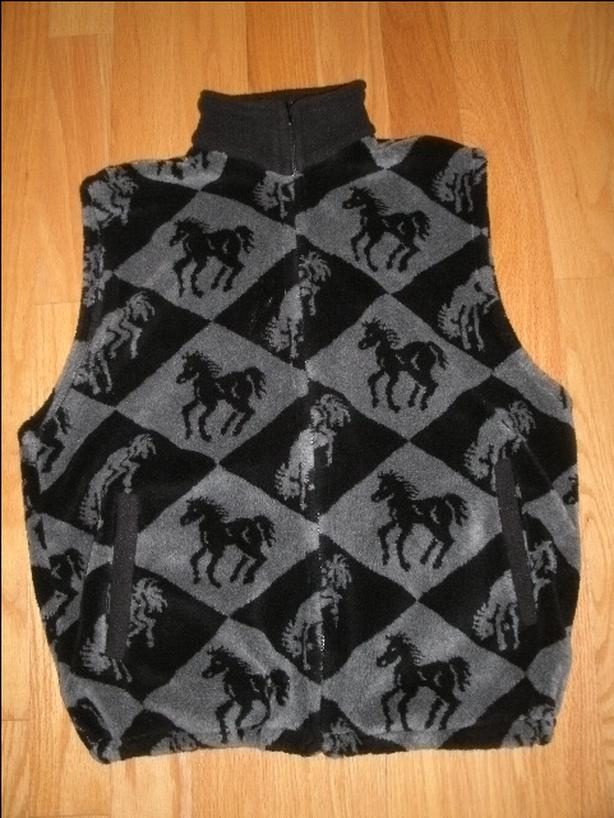 NEW ESE Fleece Vest Adult Size Medium/Large made in Canada