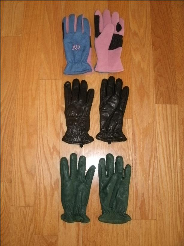 Insulated Women's Riding Gloves