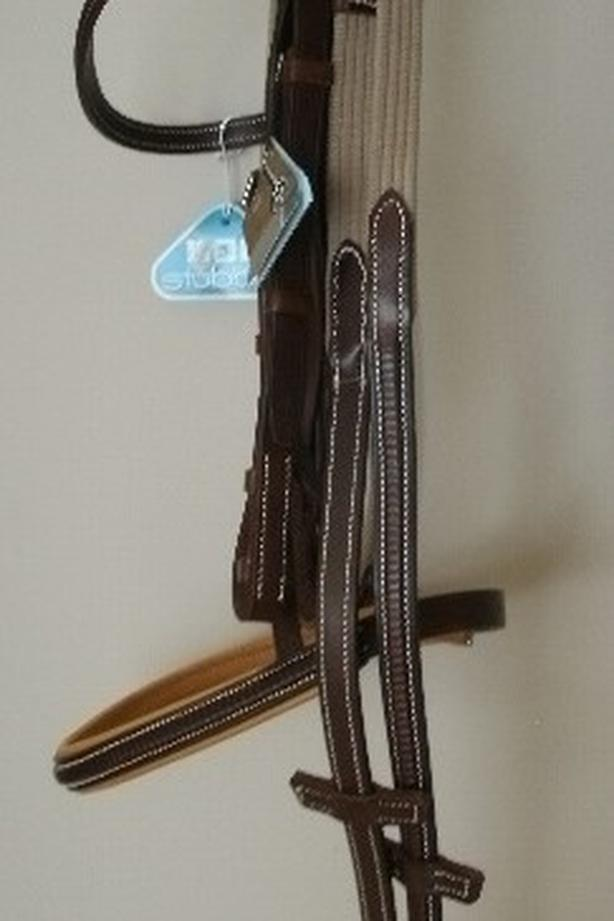NEW Stubben Over Size Bridle with NEW Stubben Reins