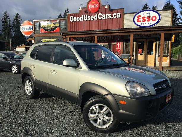 2006 Hyundai Tucson - Automatic with Leather, Alloys and A/C