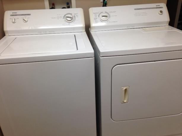 Kenmore washer/dryer pair