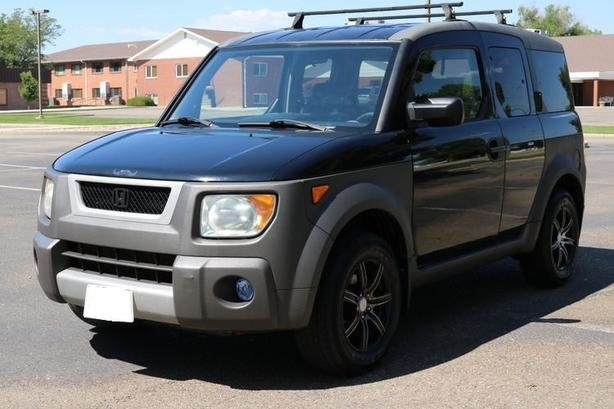 Thule rack system for  Honda Element