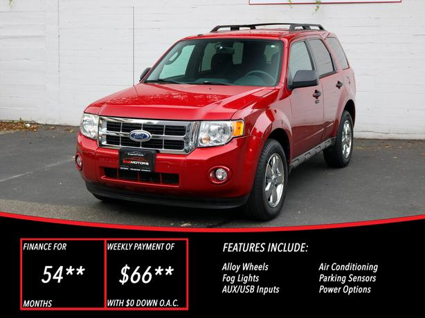 2010 Ford Escape XLT 4WD - LOCAL BC SUV!