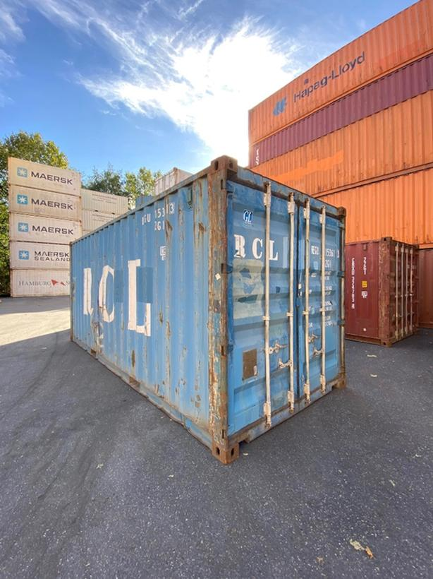 HONEYBOX - DELTA - used 20' shipping container - REGU153613
