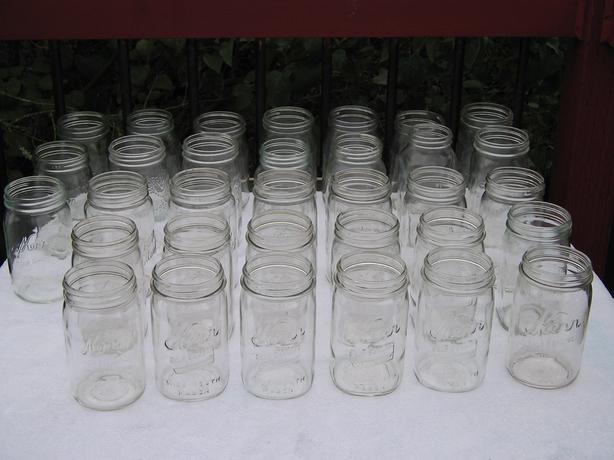 Canning Jars - 1 Quart