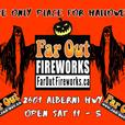 Farout Fireworks is Open