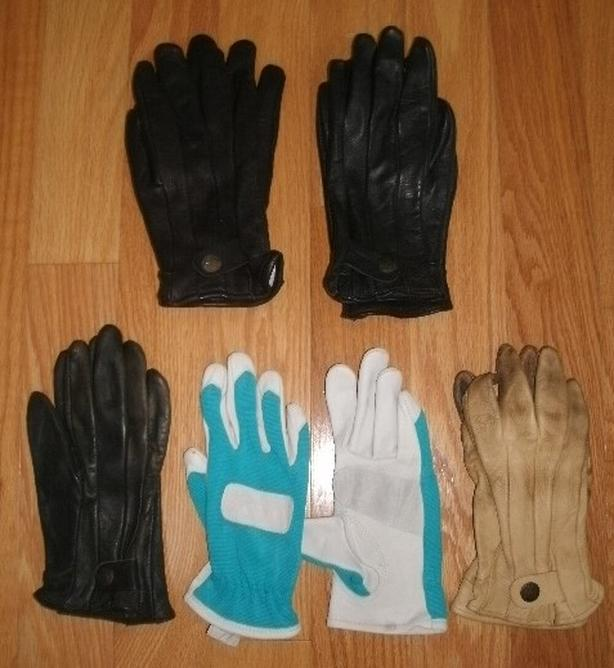 New & Used Watson & New Grips Women's Leather Gloves