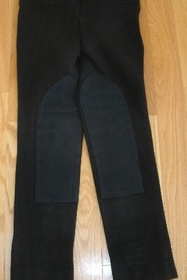Size 26 Long Black Breeches - New Condition $40