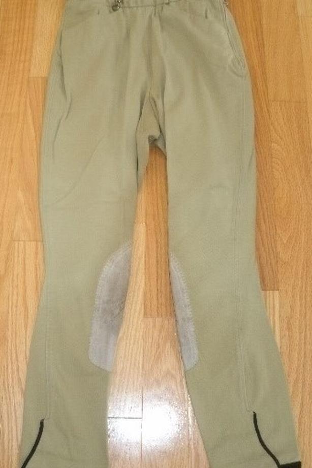 NEW Pikeur Breeches Size 28 Long Tan & White