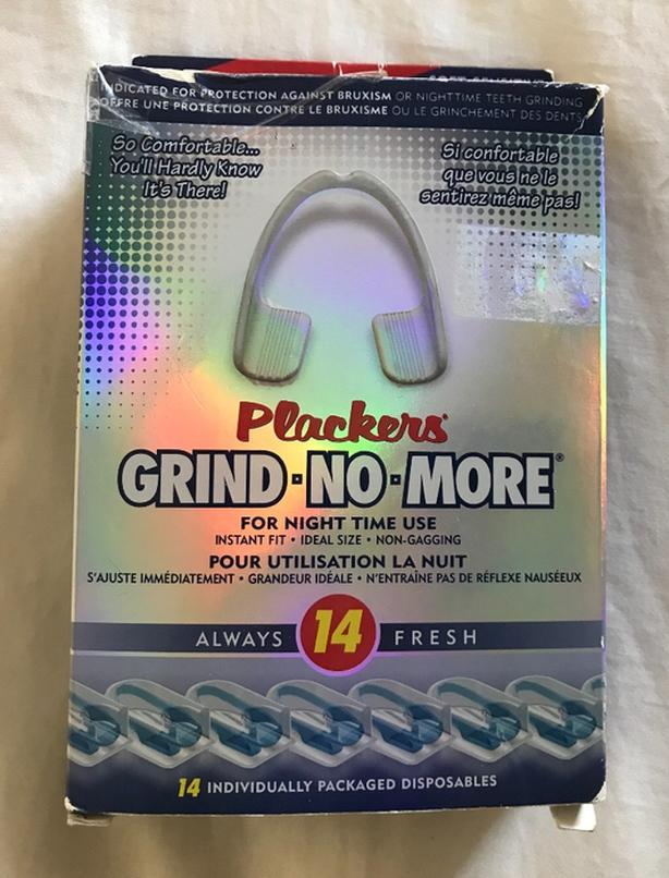 New Plackers GRIND-NO-MORE Tooth Guards $5