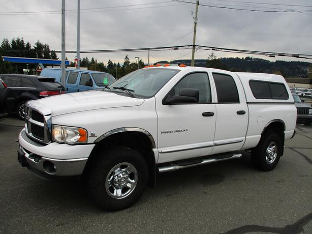 2004 dodge ram 3500 slt 4x4 quadcab turbo diesel- 1 owner