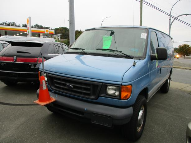 2006 ford e250 cargo van , ex shaw cable, 156 kms