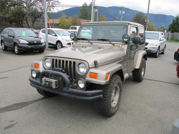 2003 jeep TJ sahara 4x4