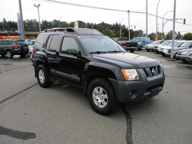 2007 nissan xterra 4x4 - manual