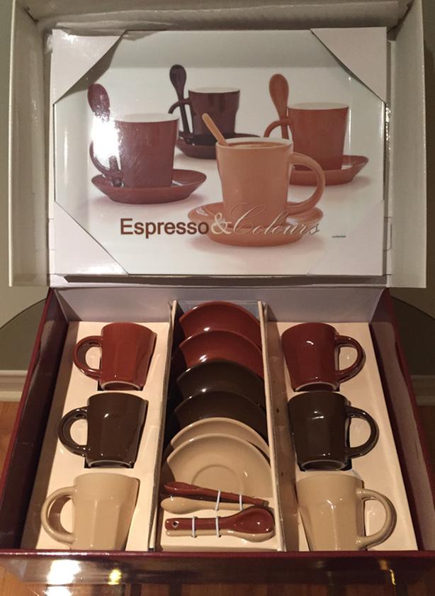 NEW! 19 piece Espresso Café Set