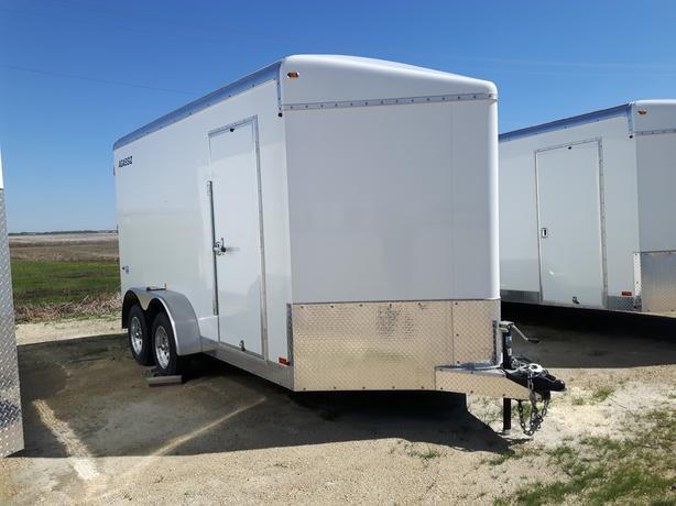 2020 Agassiz 7X 14 x 86 Cargo Trailer Barn Doors HH4534