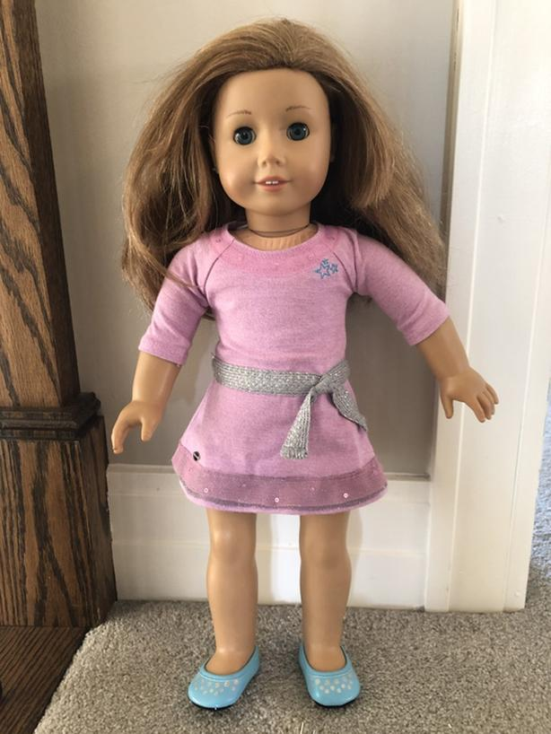 American Girl Truly Me Doll and Brush