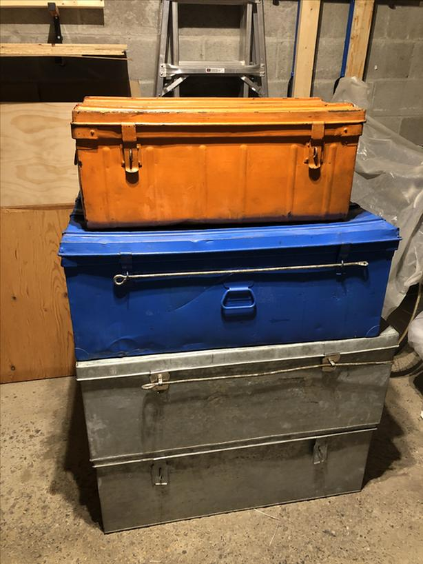 Big Steel Storage Boxes for transit or cargo (4)