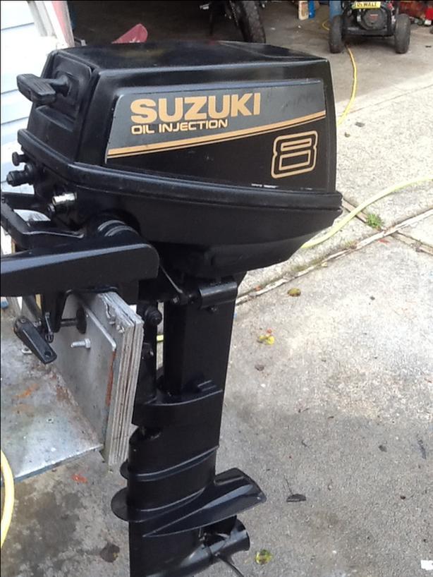 Suzuki long shaft