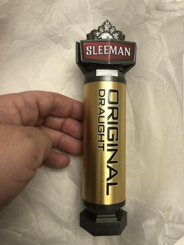 Sleeman Original Beer Draught Tap Handle - BRAND NEW