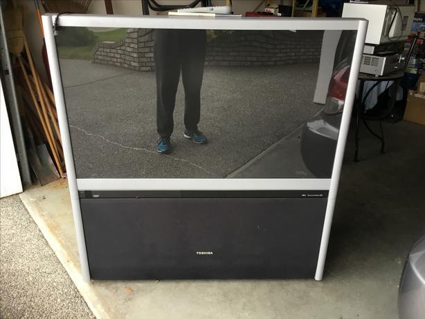 """51"""" Toshiba Rear Projection TV"""