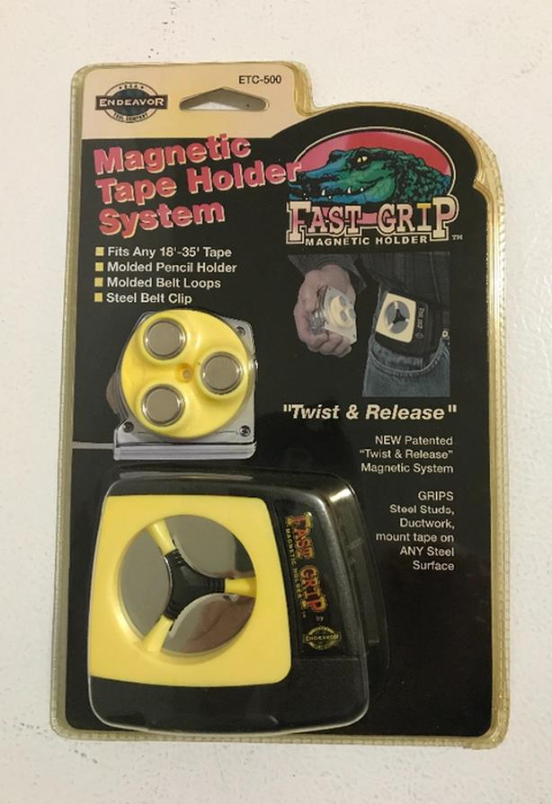 New Fast Grip Magnetic Tape Holder $10