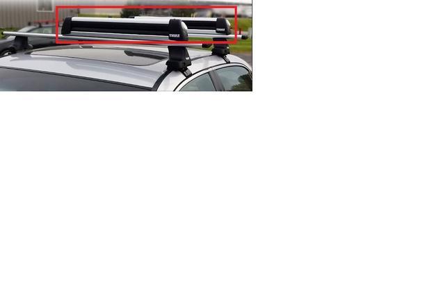 New Subaru (Thule) ski snowboard carrier rack