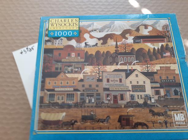 Charles Wysocki America puzzles 1000 pieces