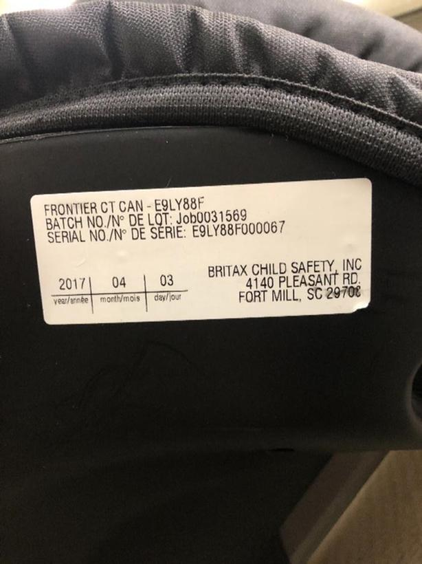 Britax Frontier Convertible Booster Seat
