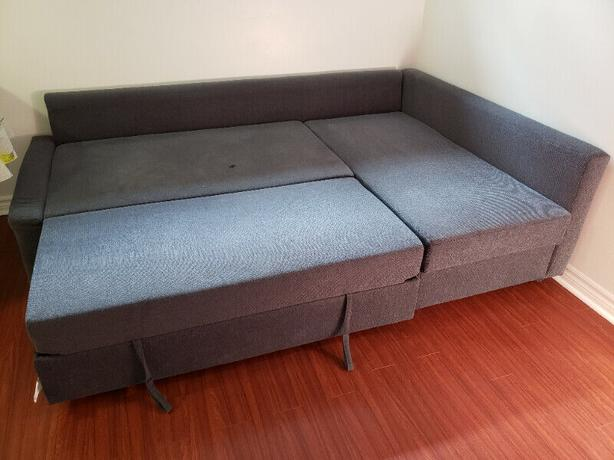 Corner Sofa Bed /w storage