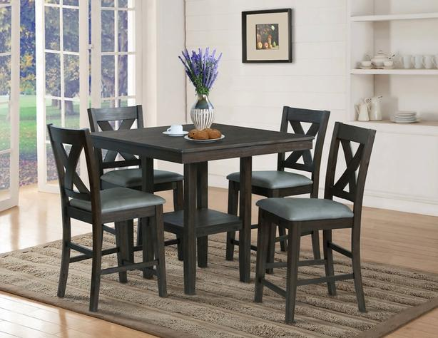 Dining table with chairs (4 sets)