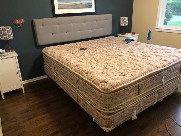 FREE: king size mattress and box spring