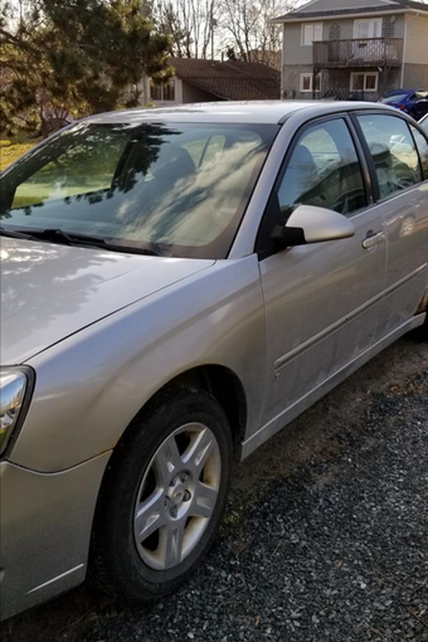 Car for Sale - 2007 Chevy Malibu LT, V6 - 3.5 L engine, Sold As Is