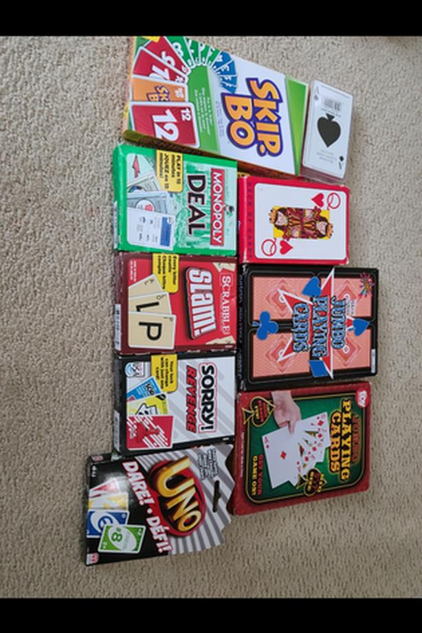 9 card games and cards