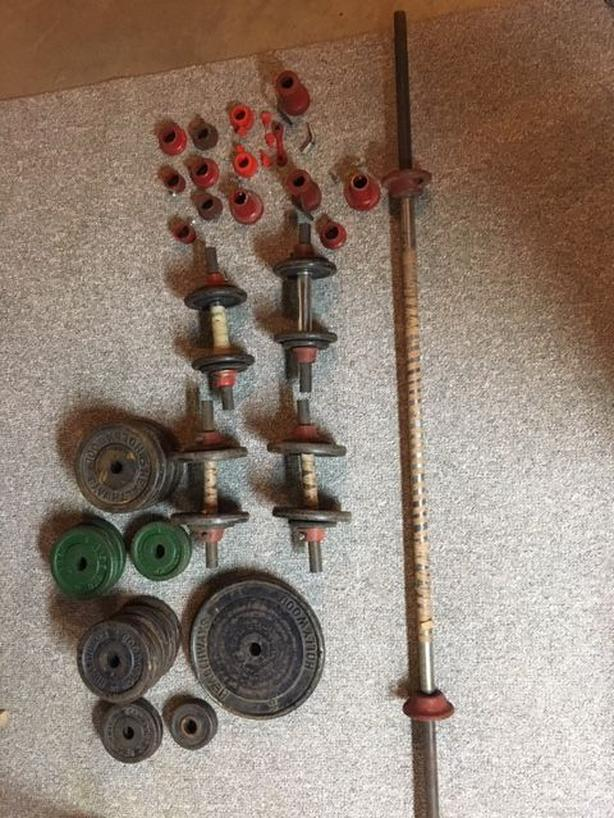 Cast Iron Weights and Barbells