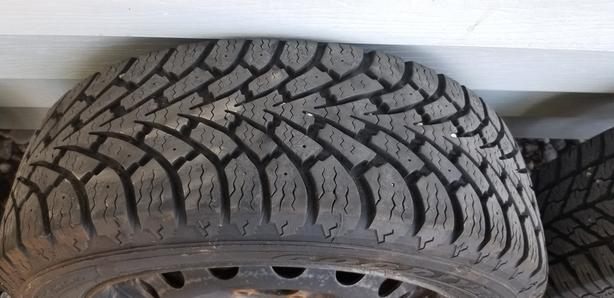 Winter Tires on Rims for Sale 185/55/15