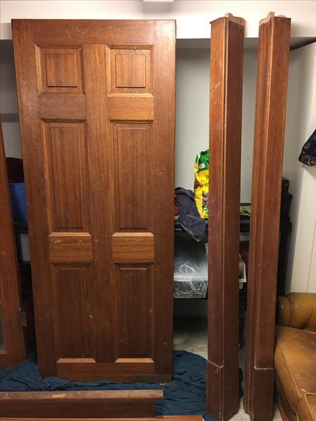 Solid Mahogany Door - Reduced Price