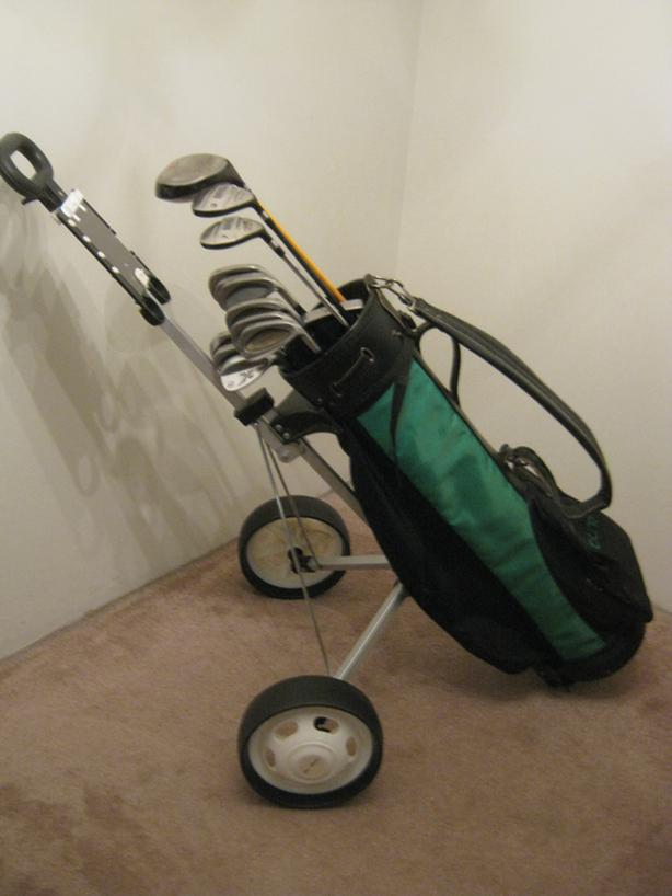 "Men's complete 13-club golf set  - ""Reduced"""
