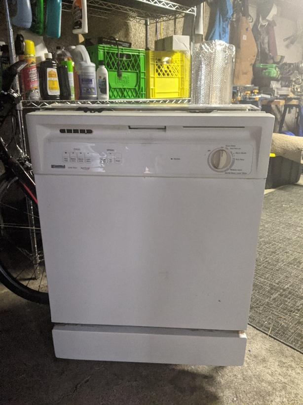 FREE:  Dishwasher