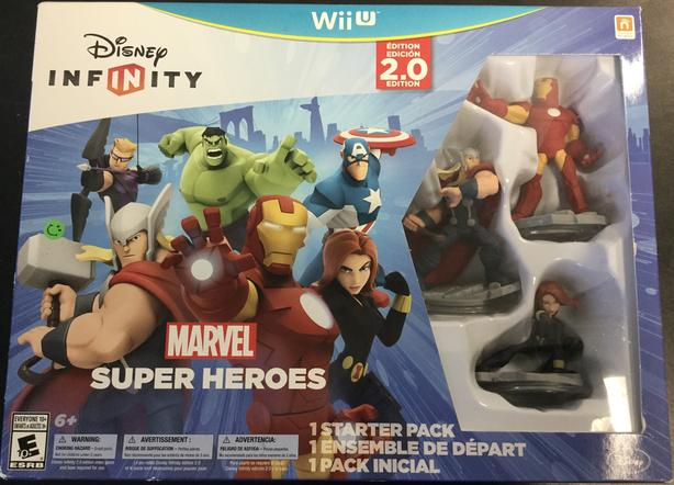 Marvel Super Heroes Wii U Compatible Figurine Set