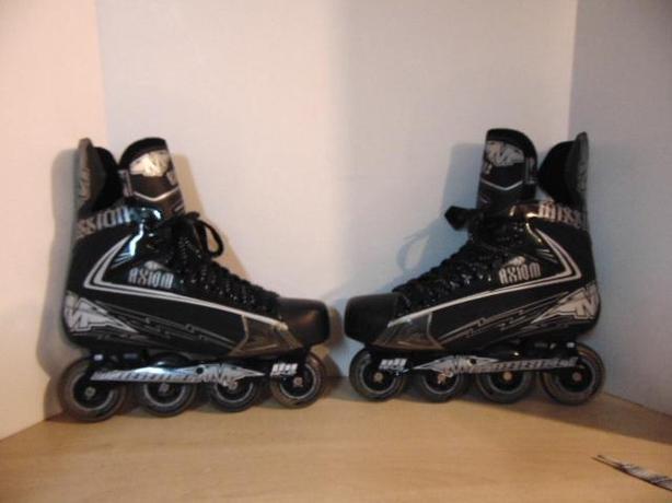 Hockey Roller Hockey Skates Men's Size 12.5 Shoe Size Mission Axium 3 Black