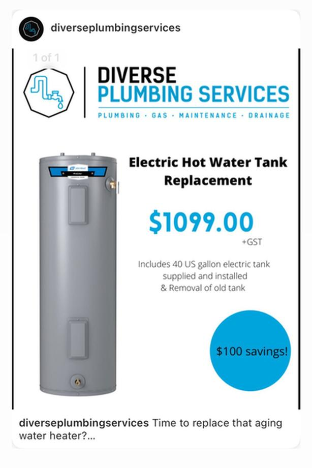 Time to replace that aging water heater?