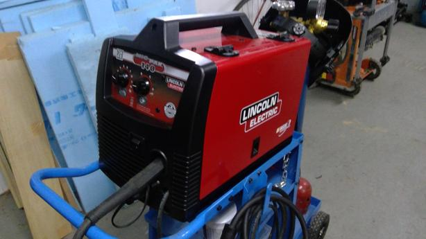 Lincoln Electric Mig-Pac 140 welder