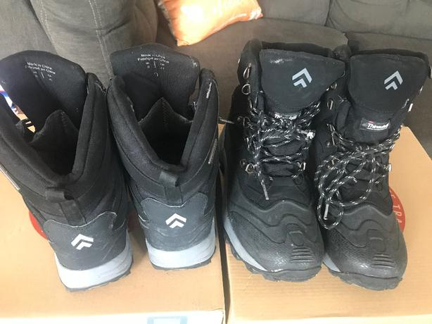 Winter boots for boys, size 8. for 10-12 years old