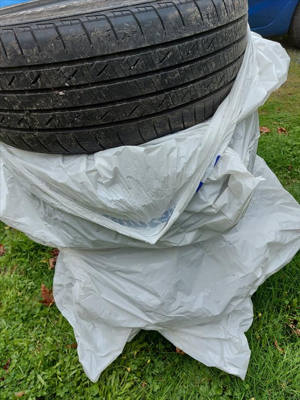 215/45R17 Nexen CP671 All Season Tires (4)