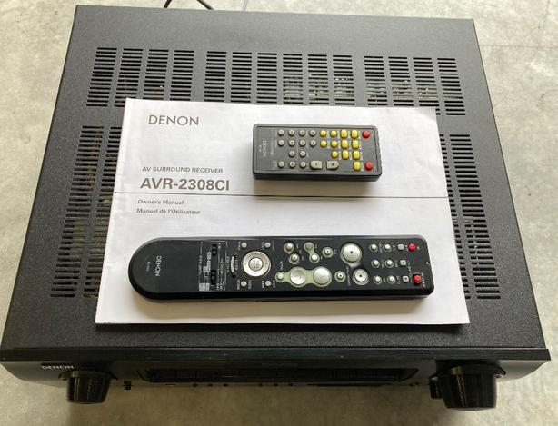 Denon AVR-2308CI Amp