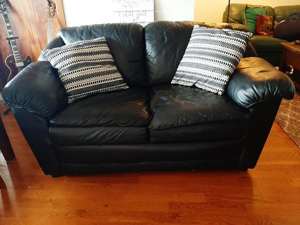 Apartment Size Leather Couch