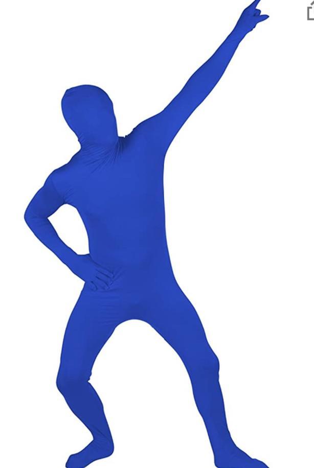 Blue Man Suit